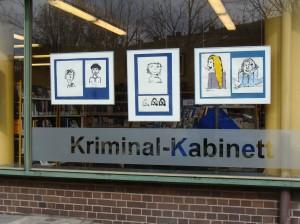 Kriminal-Kabinett, Bona-Preiser-Bibliothek, Oranienstraße 72, Berlin-Kreuzberg