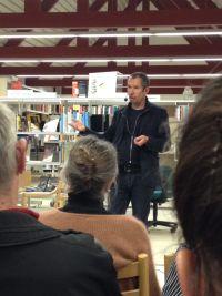 Carsten Jensen taler