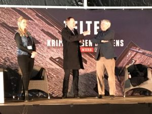 Stine Bolther, Bent Isager-Nielsen (m) og Hans Petter Hougen (th)