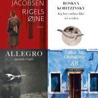 Collage af bogforsider
